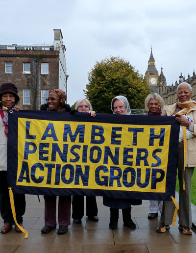 lambeth pensioners demo